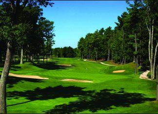 Golfing in Maine