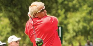 John Daly Uses Vertical Groove Driver