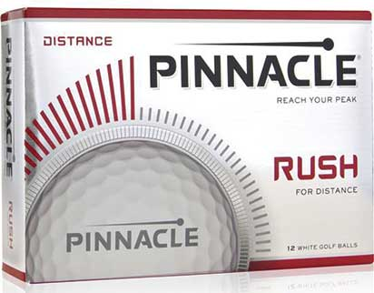 2017 Pinnacle Rush Golf Balls