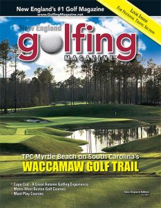 2017 Fall Issue Golfing Magazine, New England Edition